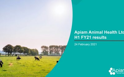 AHX – H1 FY21 Investor Presentation 24.02.2021