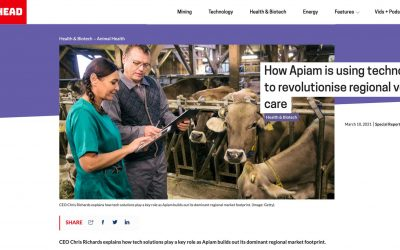 Stockhead: How Apiam is using technology to revolutionise regional vet care
